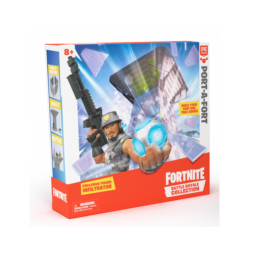 Picture of Fortnite Battle Royale 5cm Collection: Port-A-Fort and Exclusive Figure
