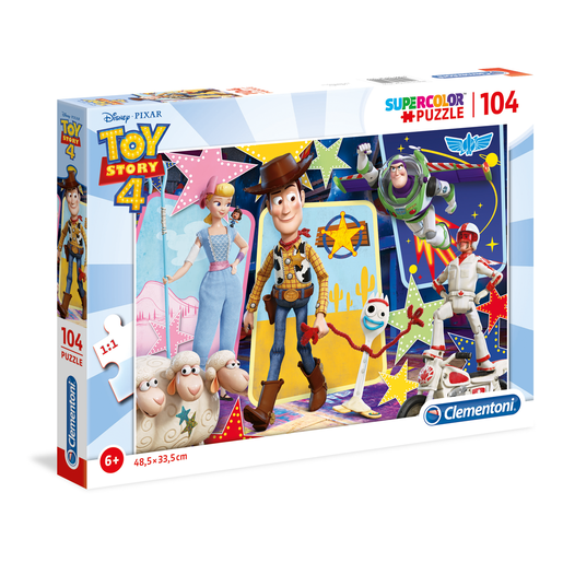 Picture of Clementoni - Toy Story 4: 104pc Puzzle
