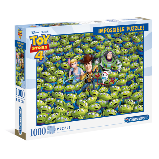 Picture of Clementoni - Toy Story 4 Impossible Puzzle