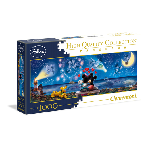 Picture of Clementoni - Mickey & Minnie 1000pc Panorama Puzzle