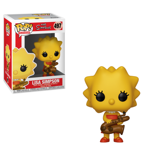Picture of Funko Pop! Television: Simpsons - Lisa With Saxophone