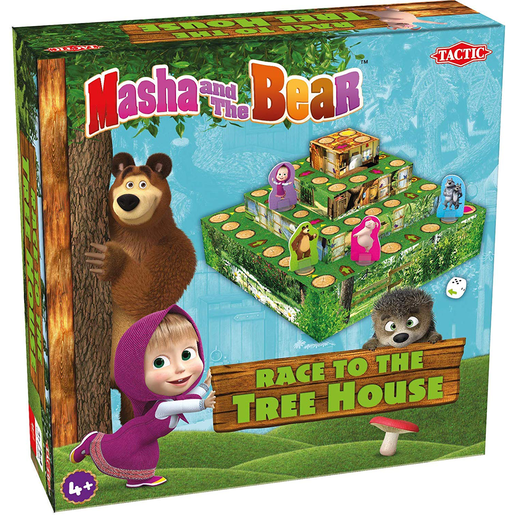 Picture of Masha Race To Treehouse Game