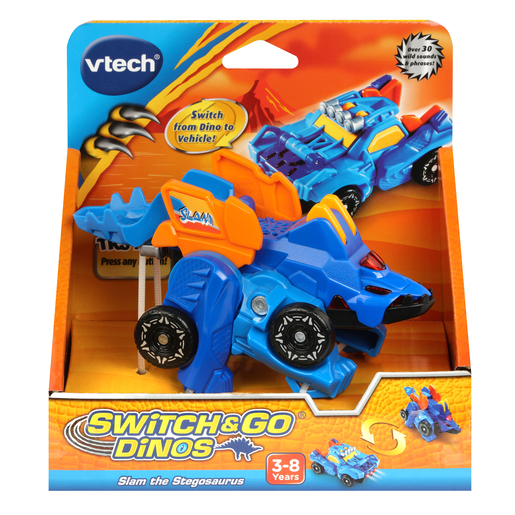 Picture of VTech Switch & Go Dinos - Slam the Stegosaurus