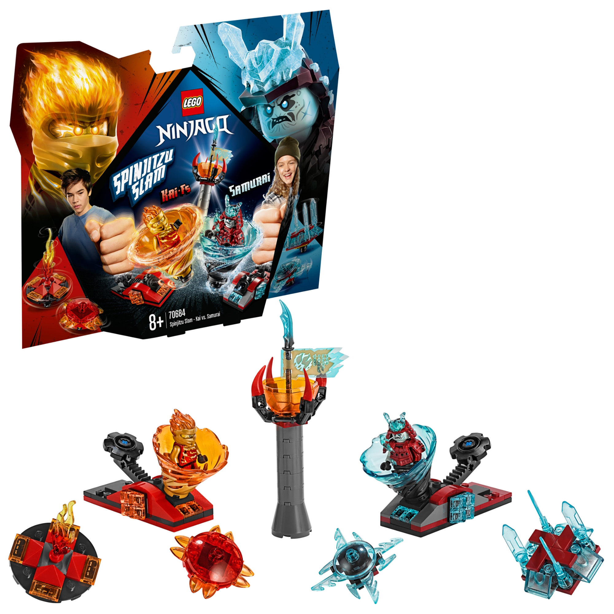Picture of Ninjago Spinjitzu Slam - Kai vs. Samurai
