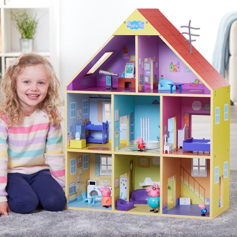 Picture of Peppa Pig Peppa's Wooden Playhouse