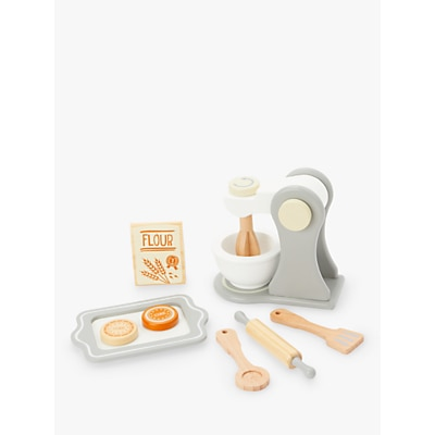 Picture of John Lewis & Partners Wooden Baking Set