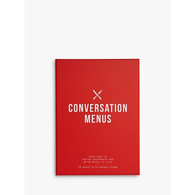 Picture of School of Life Conversation Menus Party Game