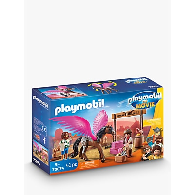 Picture of Playmobil The Movie 70074 Pegasus, Del And Marla