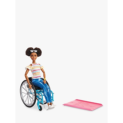 Picture of Barbie Fashionistas Wheelchair & Ramp Doll
