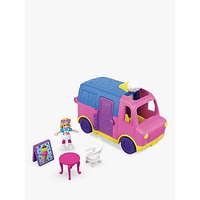 Picture of Polly Pocket Pollyville Ice Cream Truck