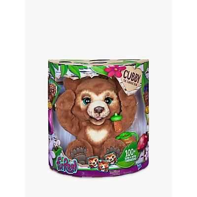 Picture of FurReal Friends Cubby The Curious Bear