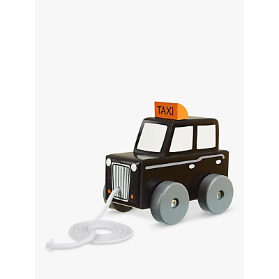 Picture of Orange Tree Baby London Cab Pull Along Wooden Toy, Black