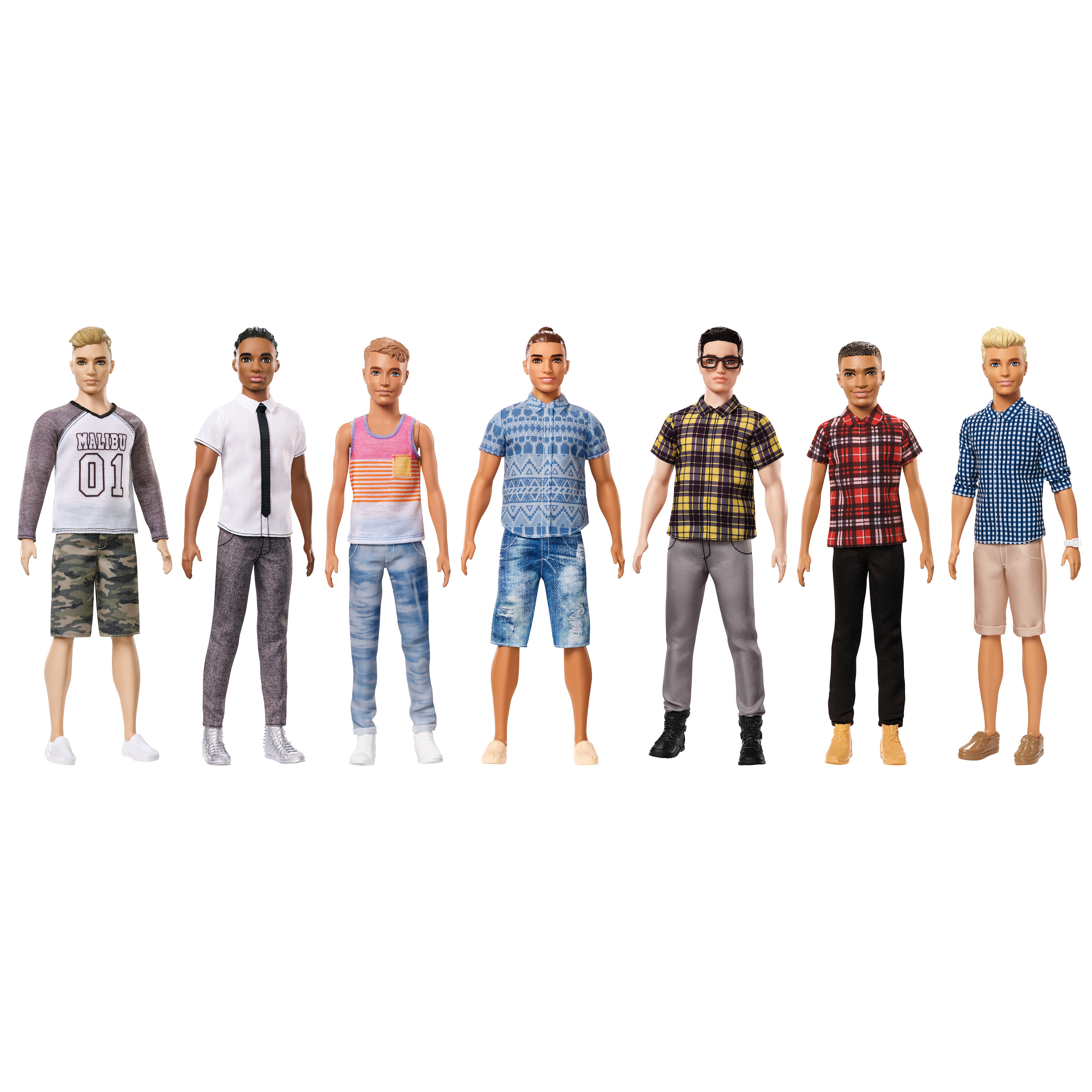 Picture of Barbie Fashionistas Ken Doll Assortment