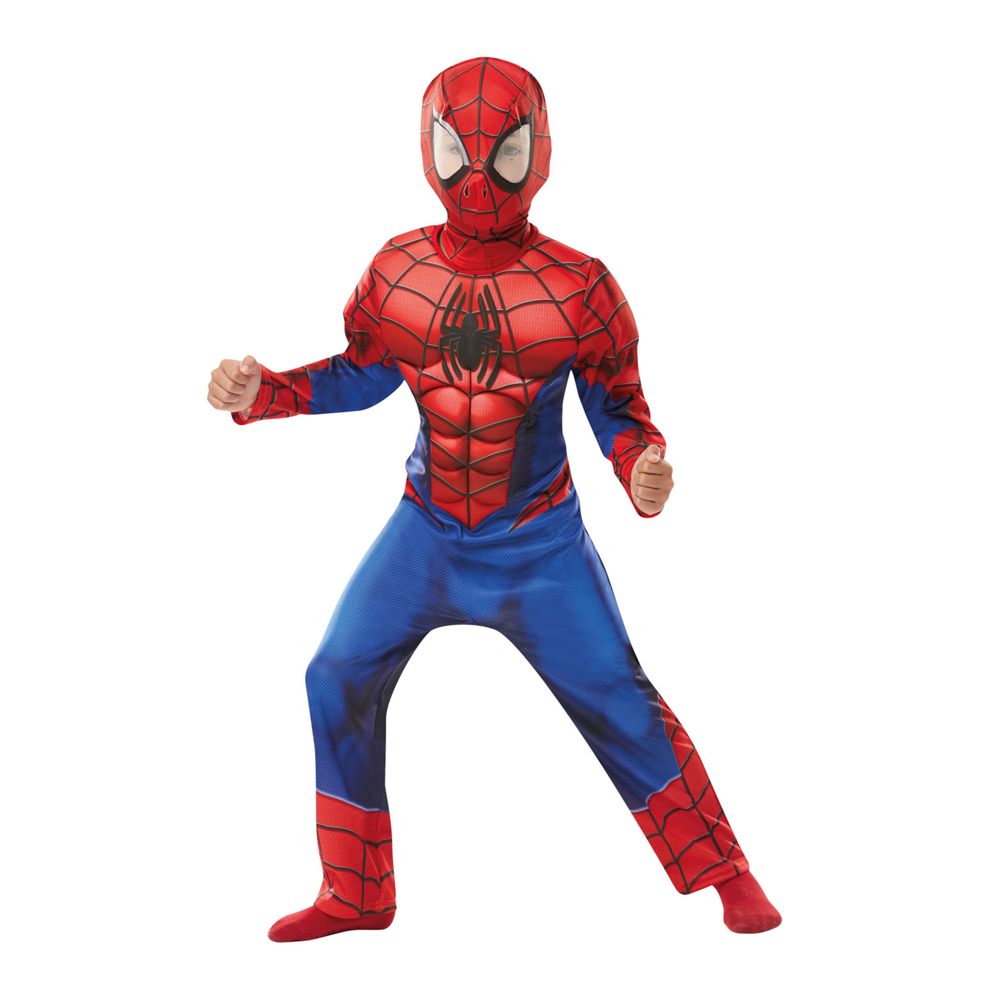 Picture of Deluxe Spider-Man Suit 7-8 years