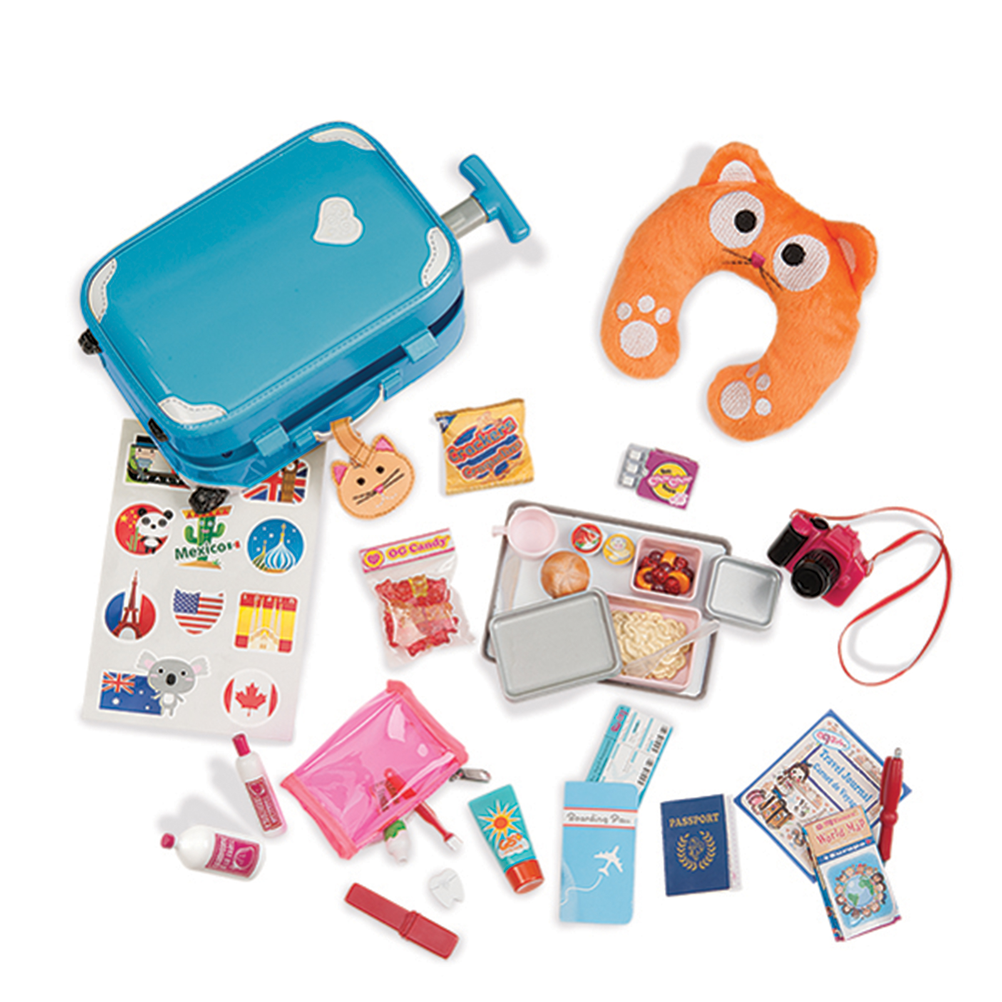 Picture of Our Generation Well Travelled Luggage Accessory Set