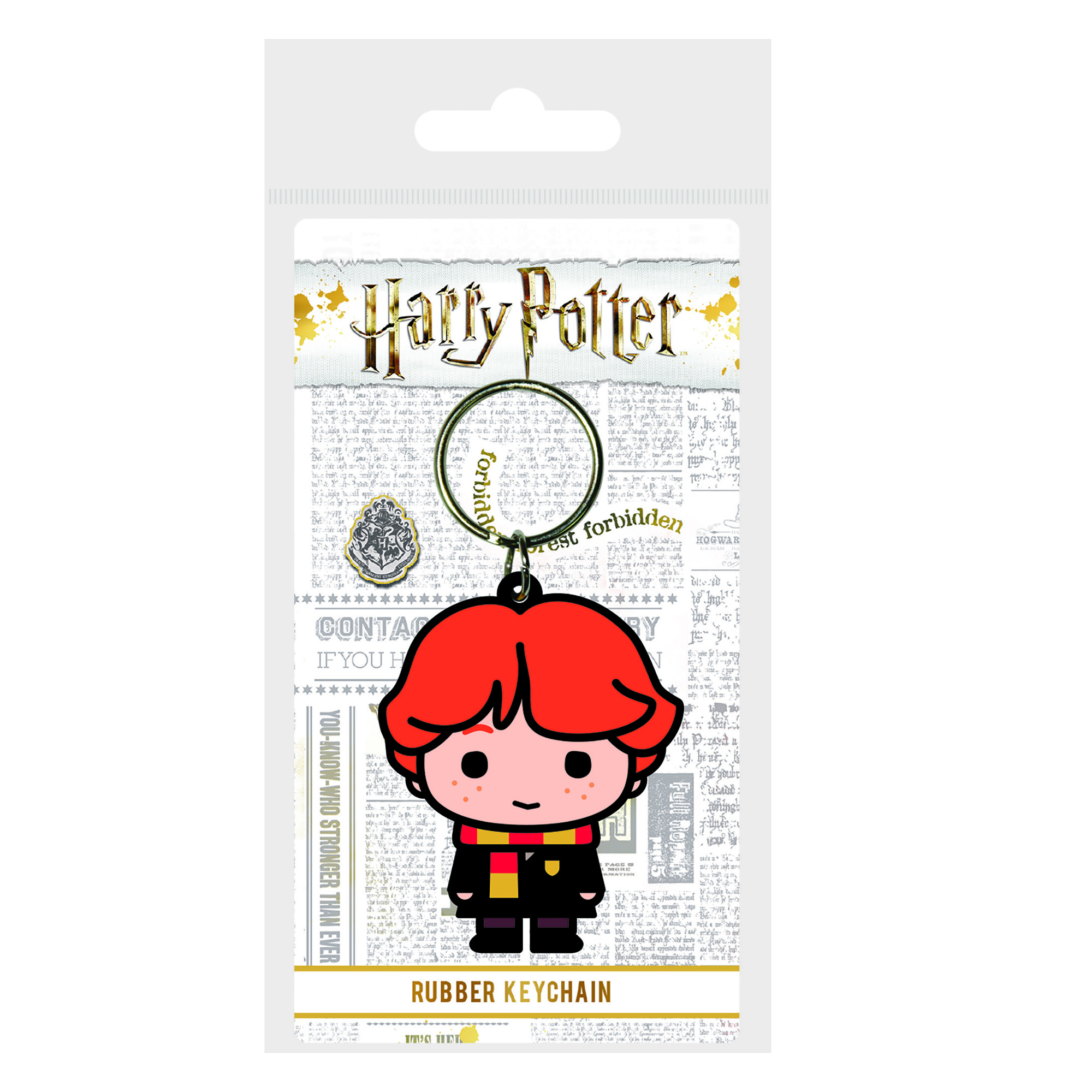 Picture of Harry Potter Ron Chibi Rubber keyring