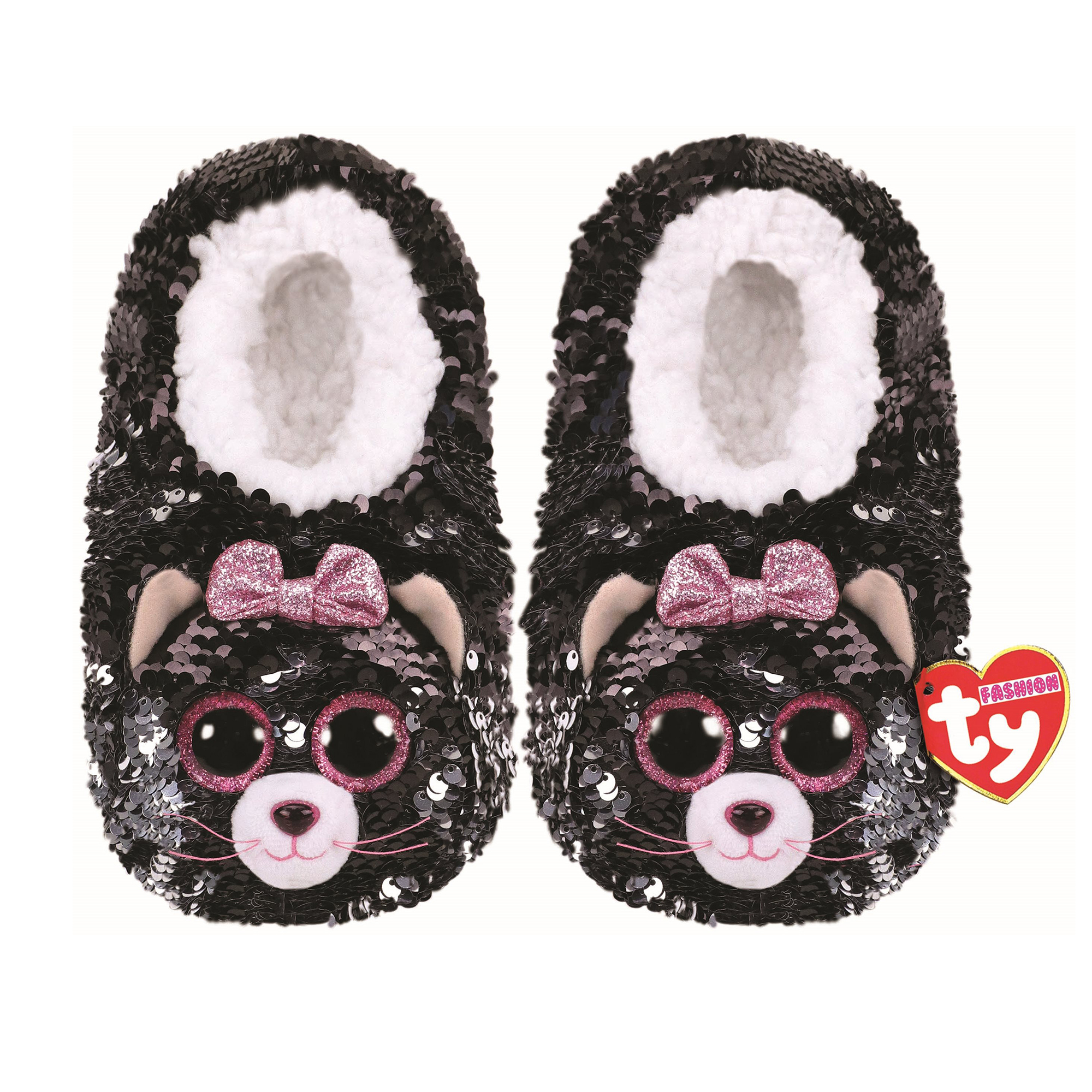 Picture of TY Kiki Cat Flip Slides Sandals Small