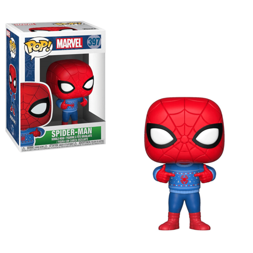 Picture of Funko Pop! Marvel: Spider-Man (Christmas Edition)
