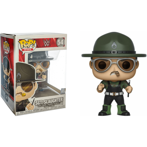 Picture of Funko Pop! WWE: WWE - Sgt. Slaughter