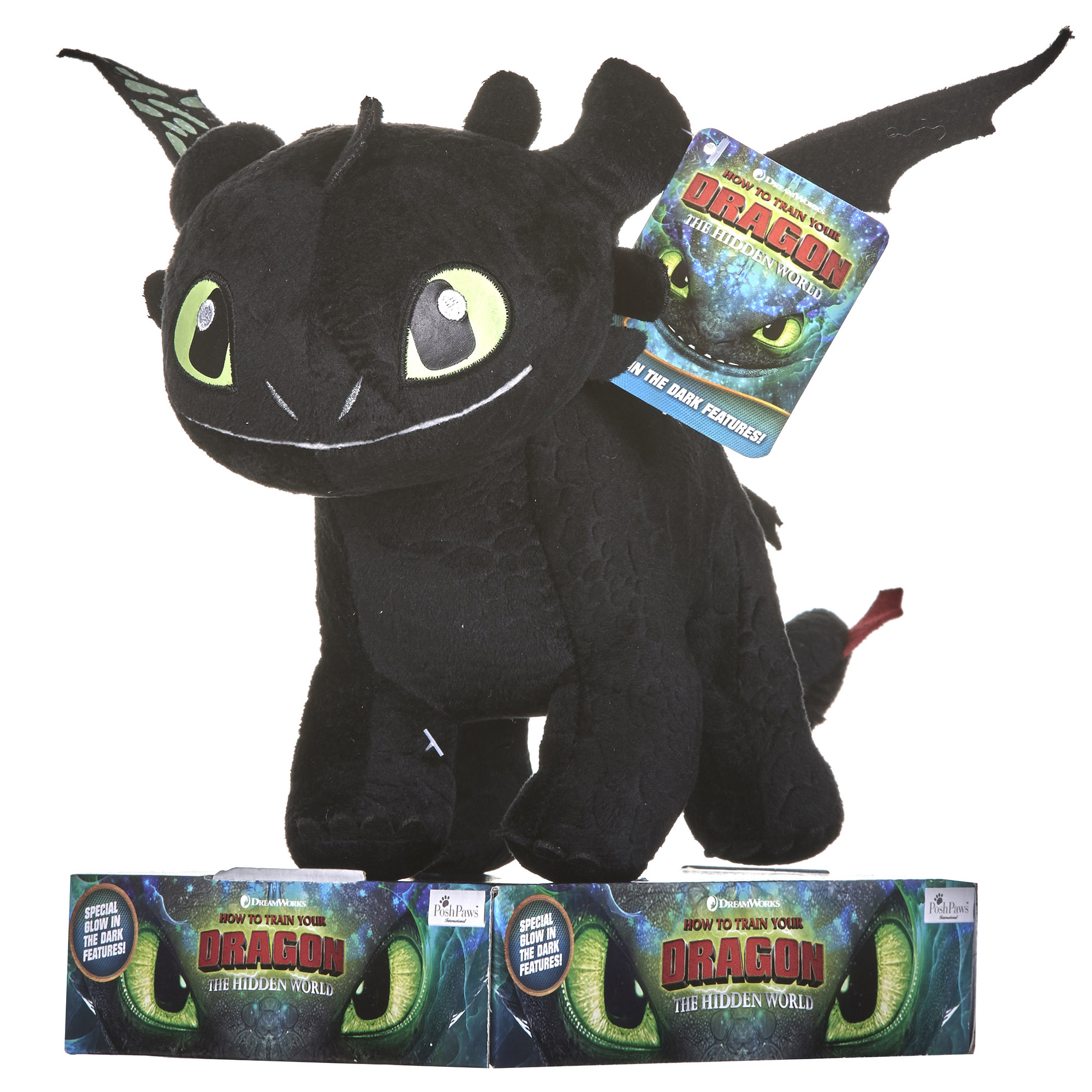 Picture of How to Train Your Dragon 32cm Toothless Soft Toy