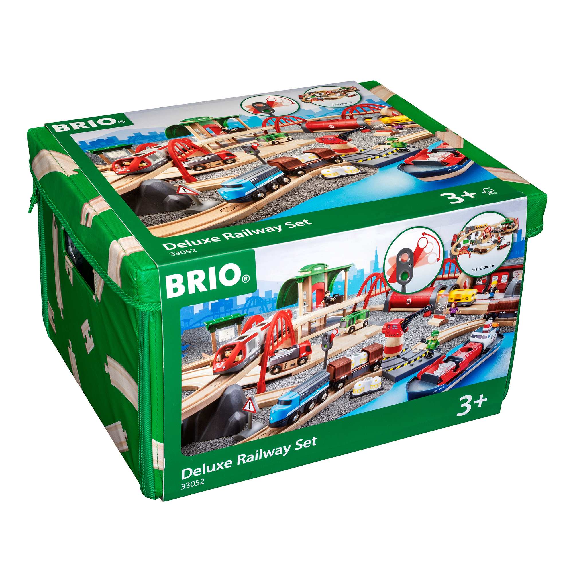 Picture of BRIO Deluxe Railway Set