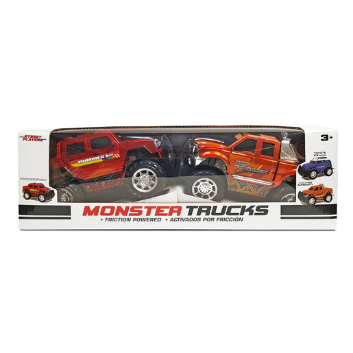 Picture of Monster Trucks - Hummer H2 and Ford F-350 Super Duty