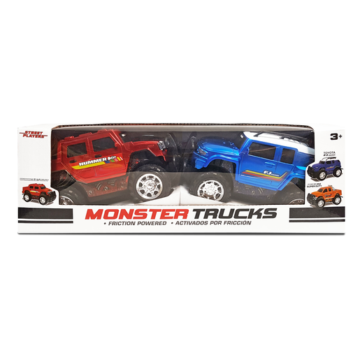 Picture of Monster Trucks - Toyota FJ Cruiser and Ford F-350 Super Duty