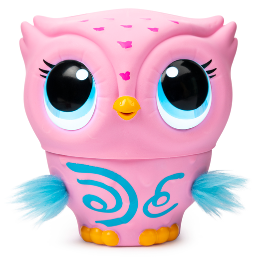 Picture of Owleez Flying Baby Owl Interactive Toy - Pink