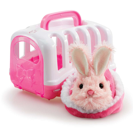 Picture of Pitter Patter Pets Carry Around Bunny - Pink