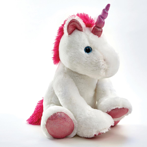 Picture of Snuggle Buddies 35cm Unicorn Plush Toy - Misty
