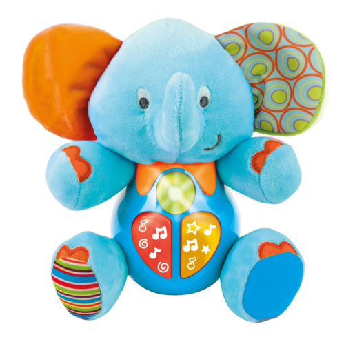 Picture of WinFun Sing 'N Learn Elephant - Blue
