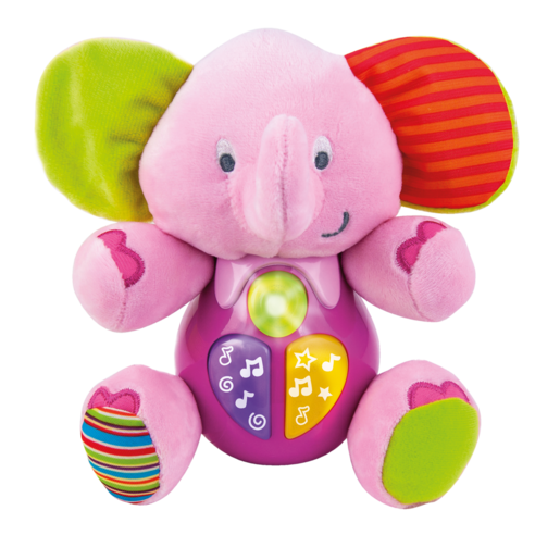 Picture of WinFun Sing 'N Learn Elephant - Pink