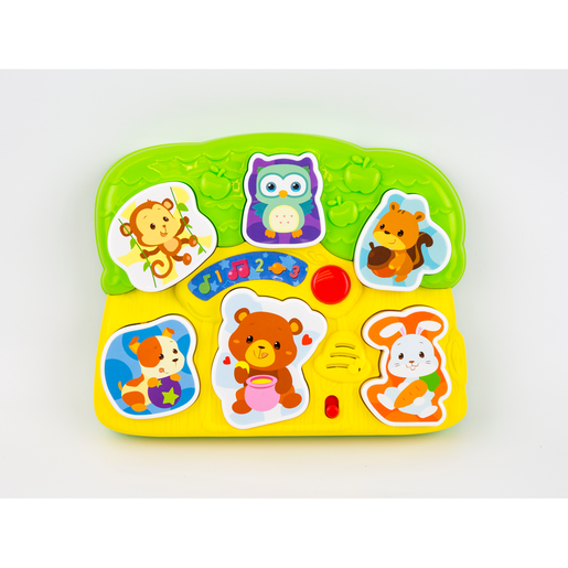 Picture of WinFun Light 'N Sounds Animal Puzzle