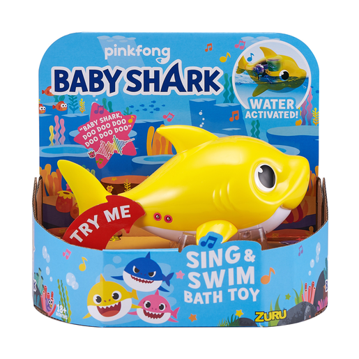 Picture of Baby Shark Sing and Swim Bath Toy - Baby Shark By ZURU