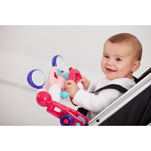 Picture of Early Learning Centre Lights and Sounds Buggy Driver - Pink