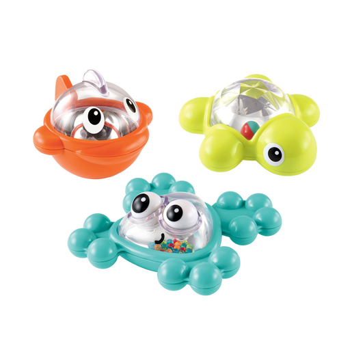 Picture of Early Learning Centre Bath Time Rattle and Roll Friends