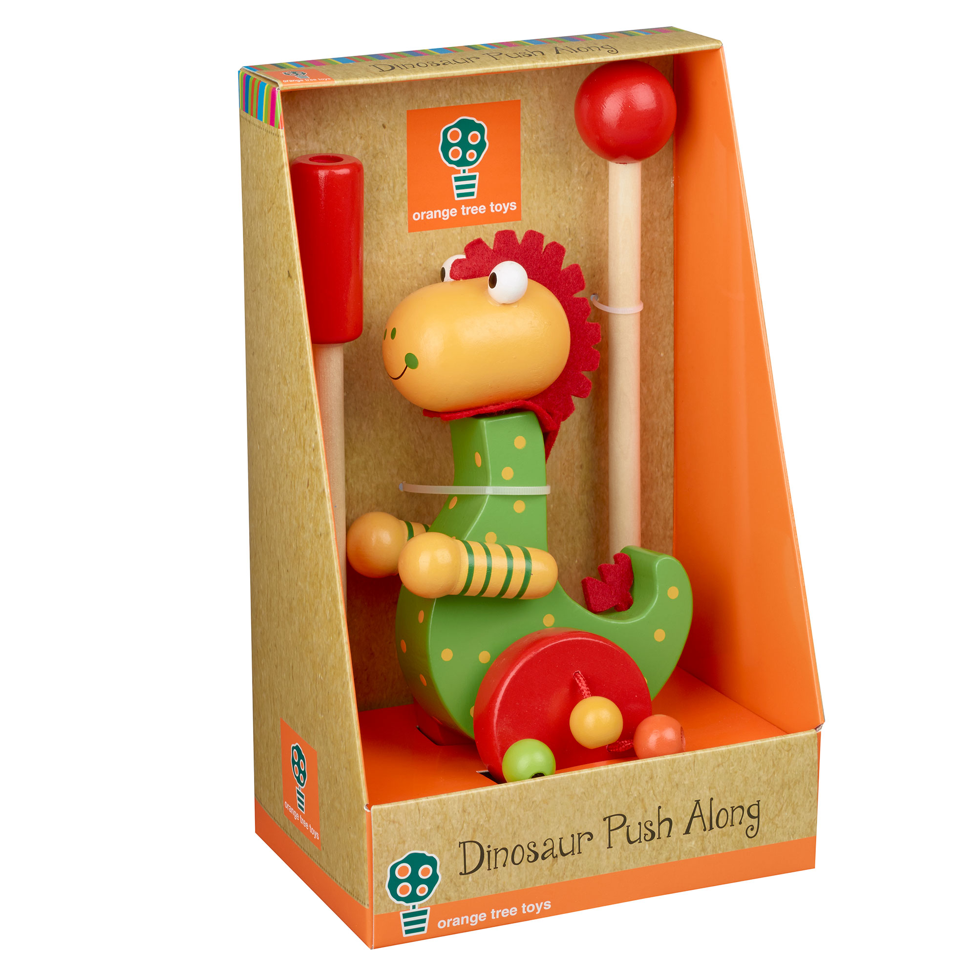 Picture of Dinosaur Push Along Toy