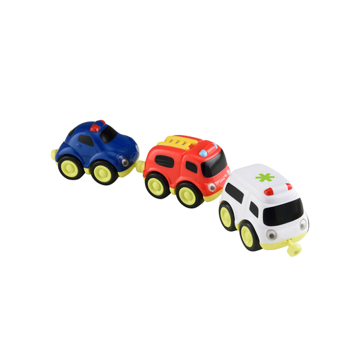 Picture of Whizz World Emergency Vehicles Magnetic Trio Set