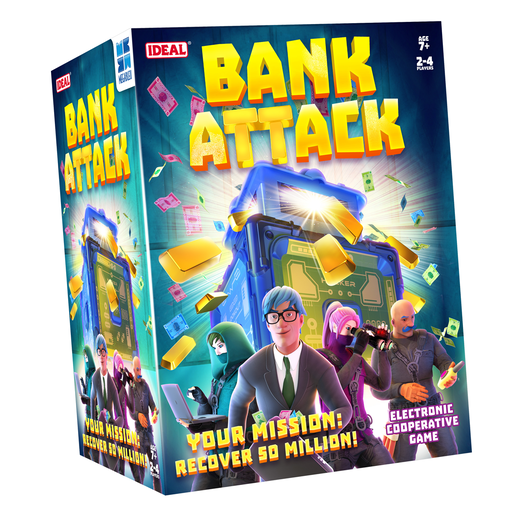 Picture of Bank Attack Electronic Game