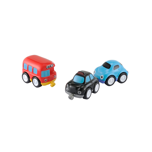 Picture of Whizz World City Vehicle Magnetic Trio Set