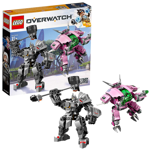 Picture of LEGO Overwatch D VA and Reinhardt -75973