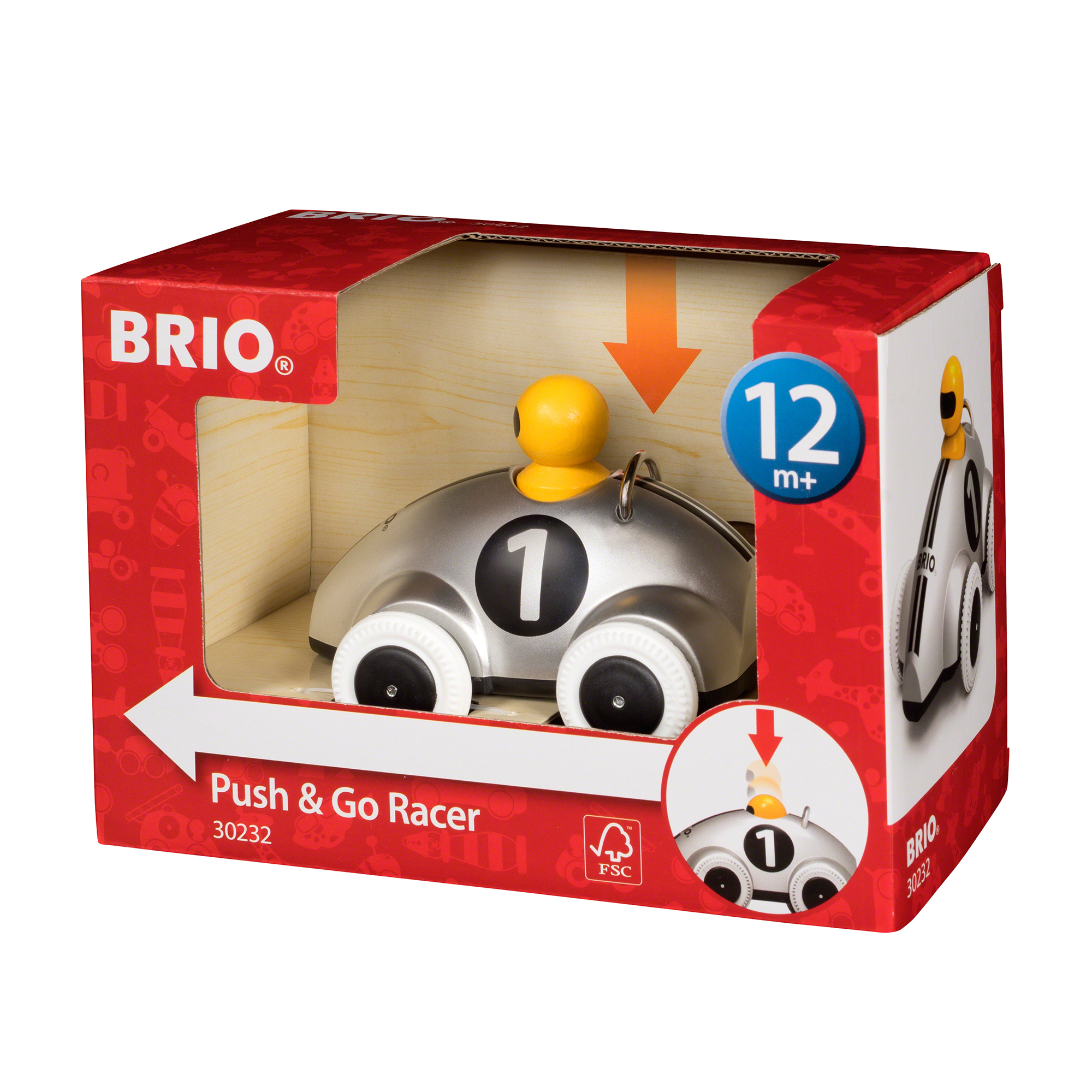 Picture of BRIO Push & Go Racer Special Edition