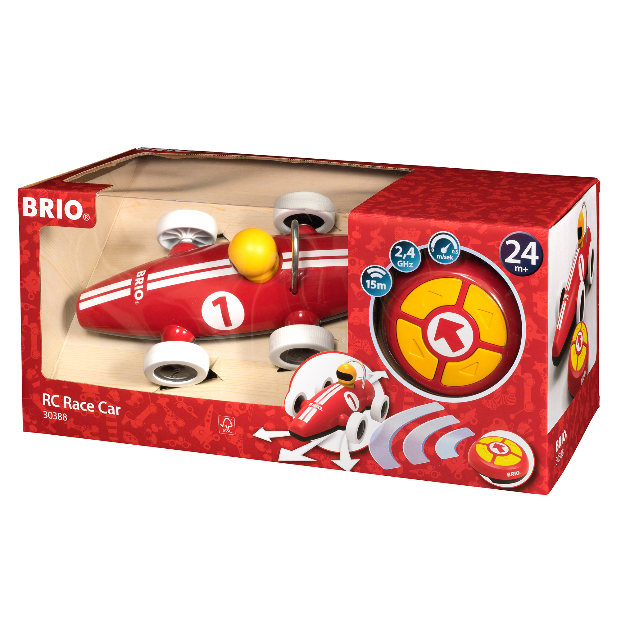 Picture of BRIO Remote Controlled Race Car