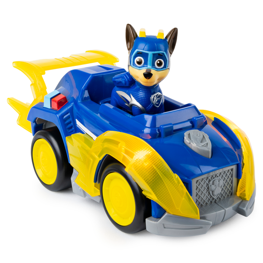 Picture of Paw Patrol Mighty Pups Super Pups Deluxe Vehicle - Chase