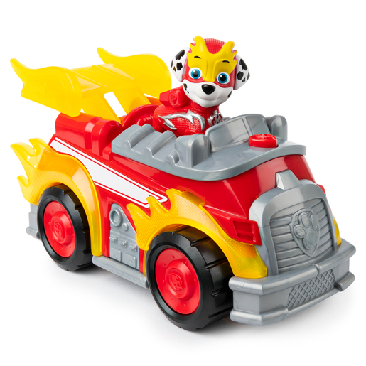 Picture of Paw Patrol Mighty Pups Super Pups Deluxe Vehicle - Marshall