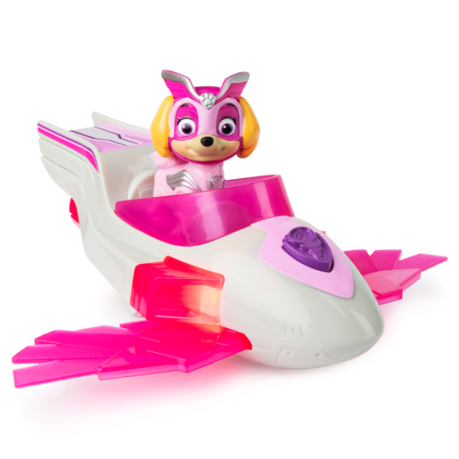 Picture of Paw Patrol Mighty Pups Super Pups Deluxe Vehicle - Skye