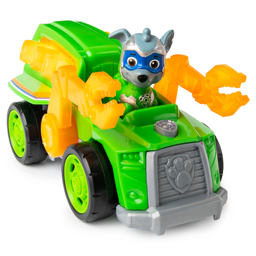 Picture of Paw Patrol Mighty Pups Super Pups Deluxe Vehicle - Rocky