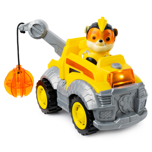 Picture of Paw Patrol Mighty Pups Super Pups Deluxe Vehicle - Rubble