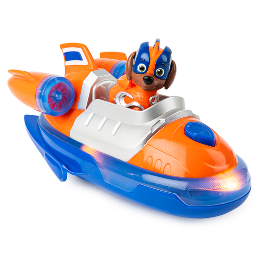 Picture of Paw Patrol Mighty Pups Super Pups Deluxe Vehicle - Zuma