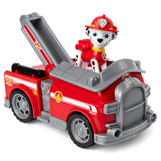 Picture of Paw Patrol Figure and Vehicle - Marshall and Firetruck